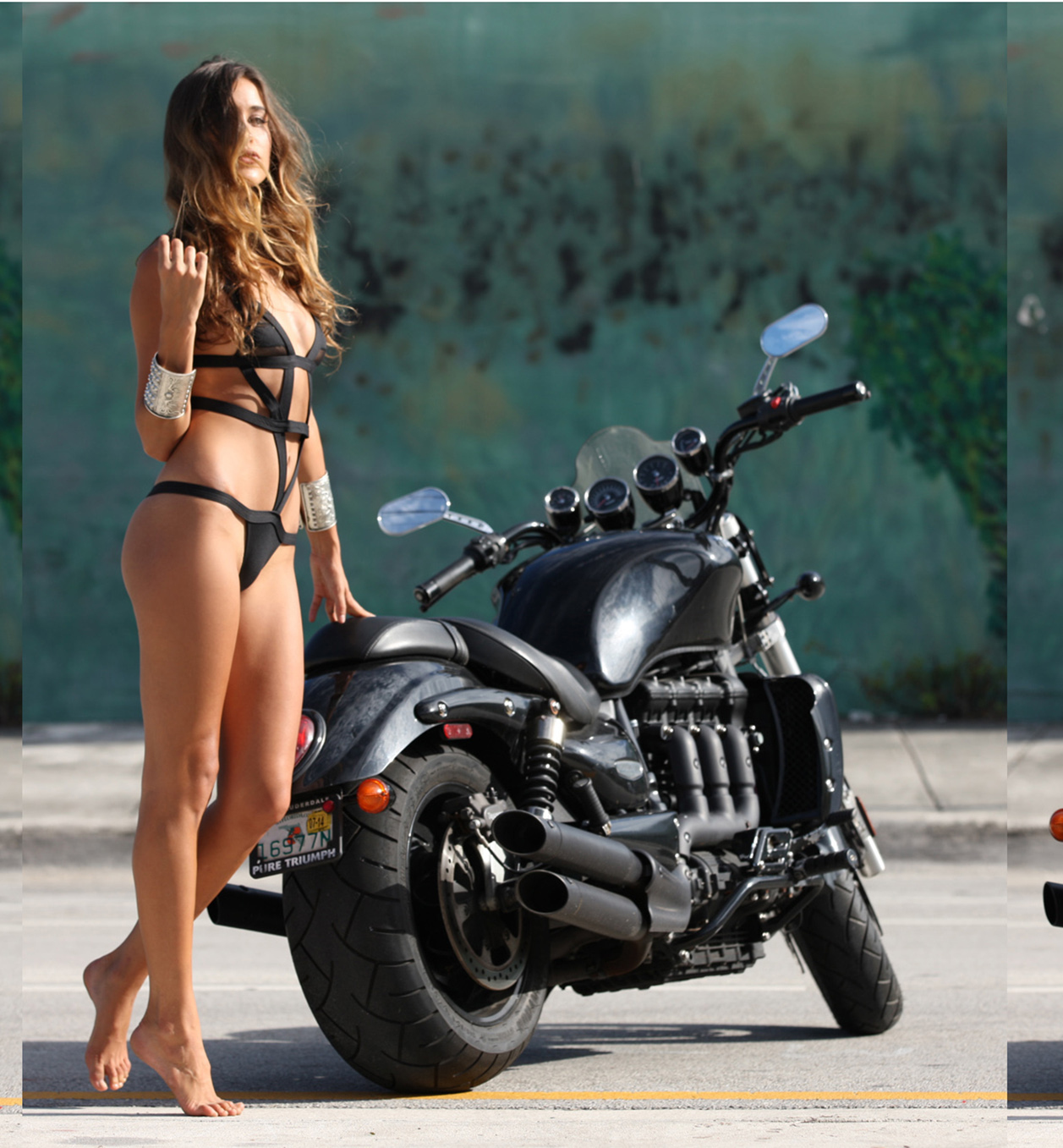 Jehane Gigi Paris – Motorcycle Diaries Photoshoot (2019)