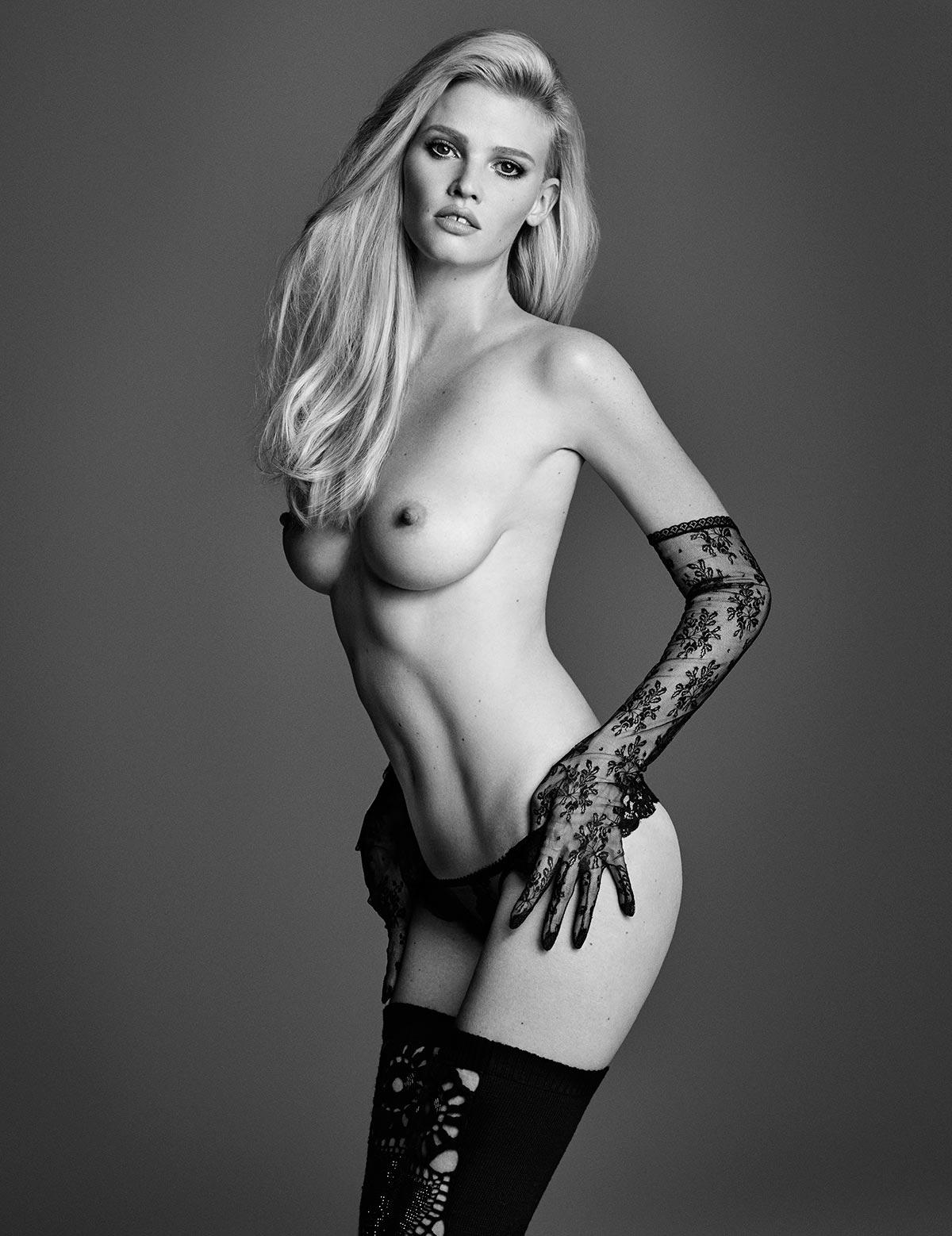 Lara Stone topless photos (7)