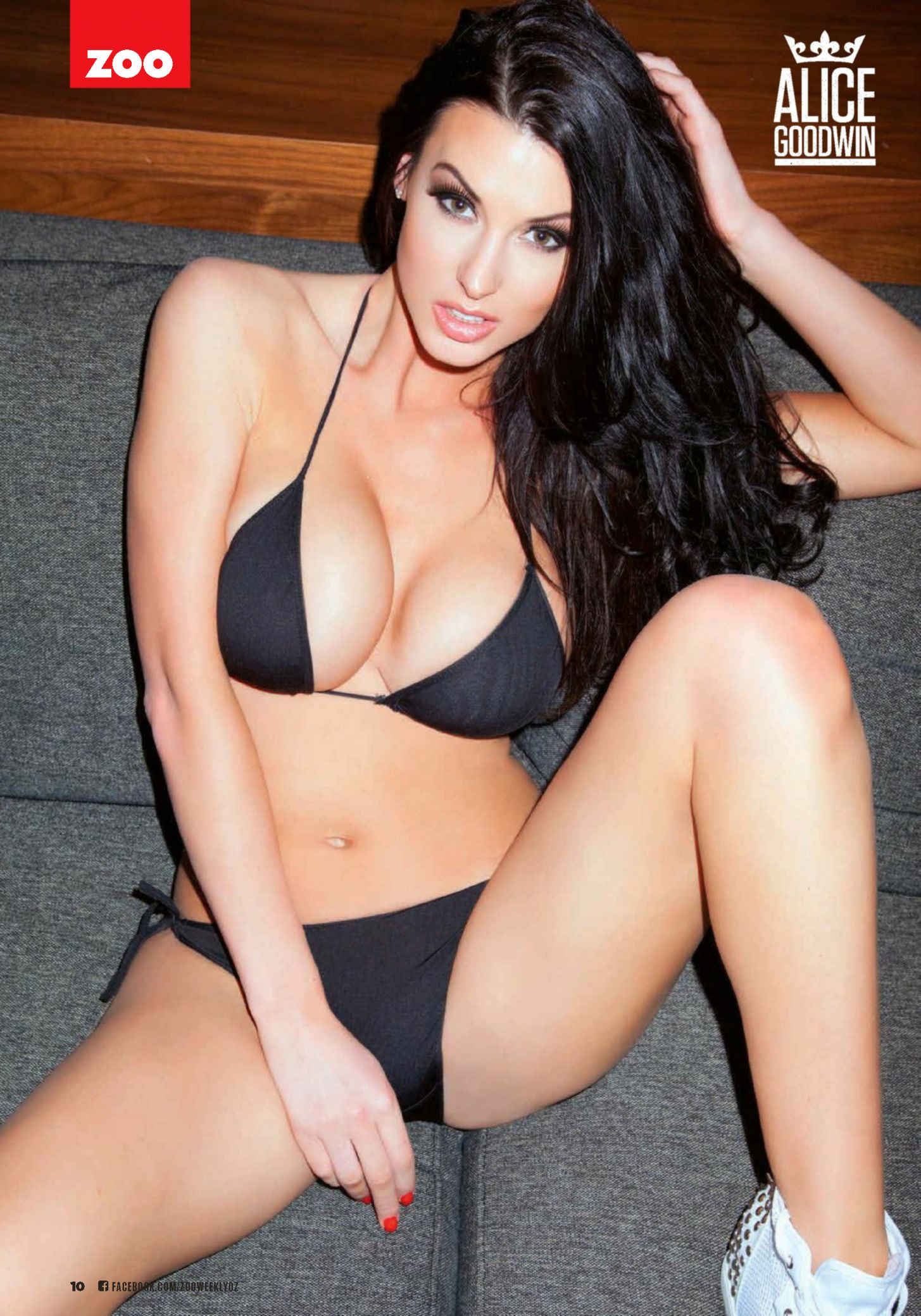 Nude hot alice goodwin
