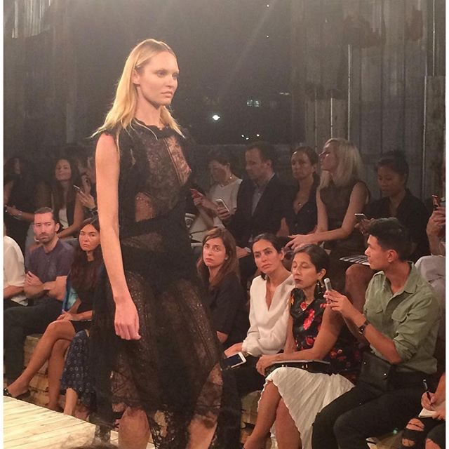 Candice Swanepoel – Nipple Slip at Givenchy (3)