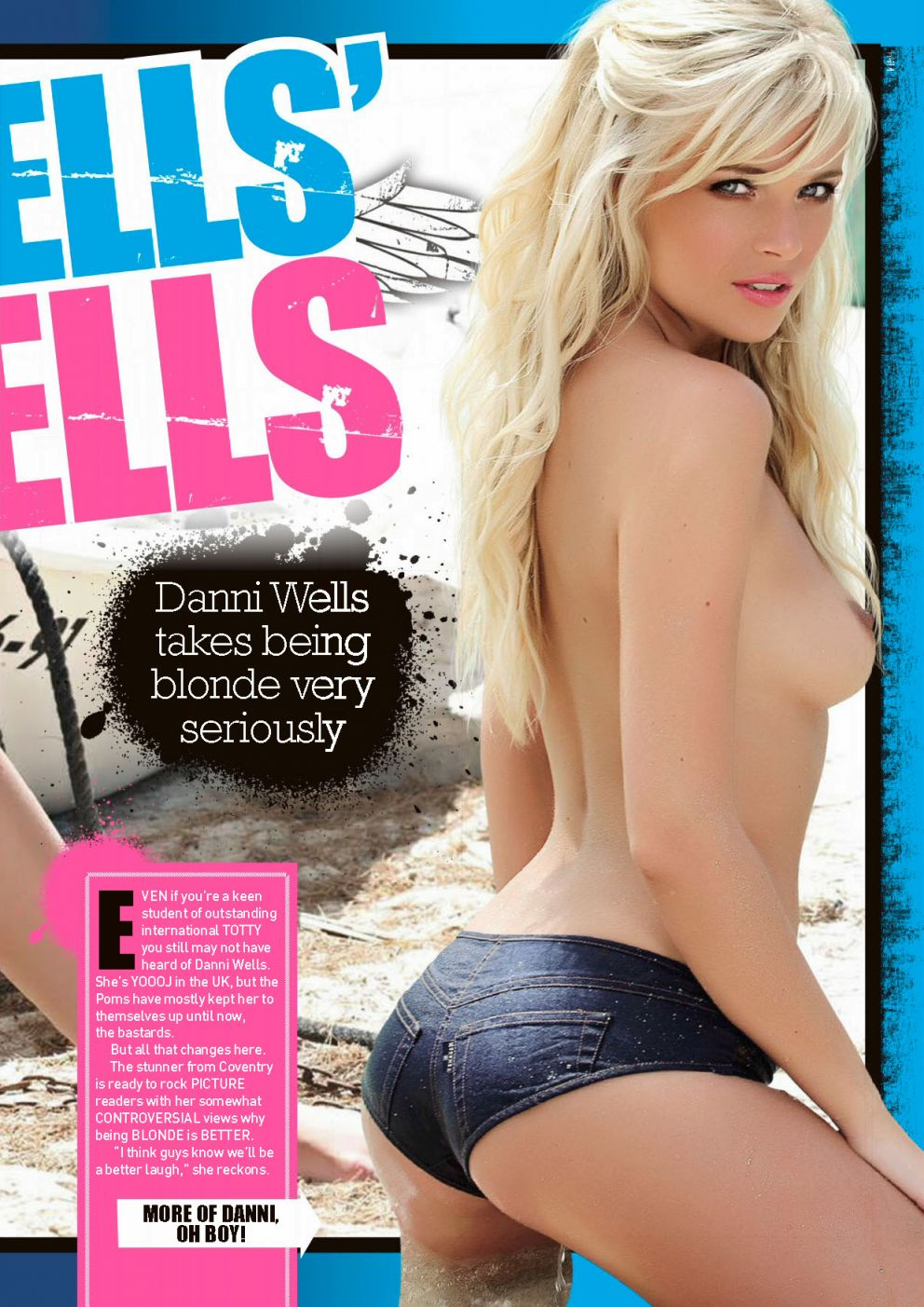 Danni Wells topless photos  (6)