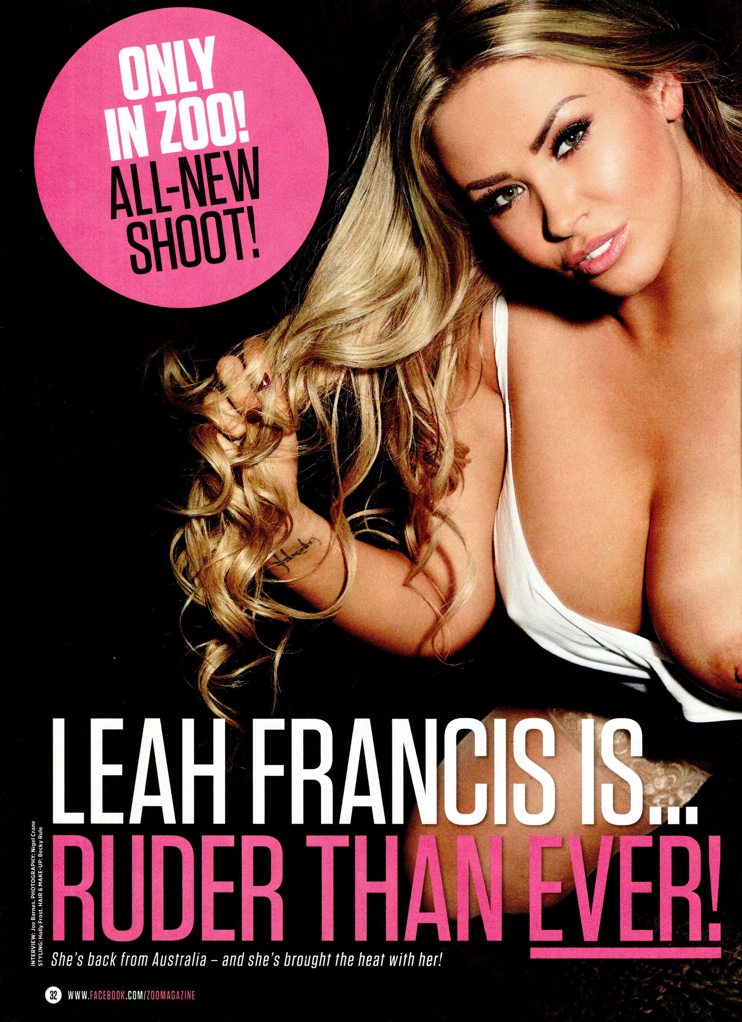 Leah Francis topless pics (9)