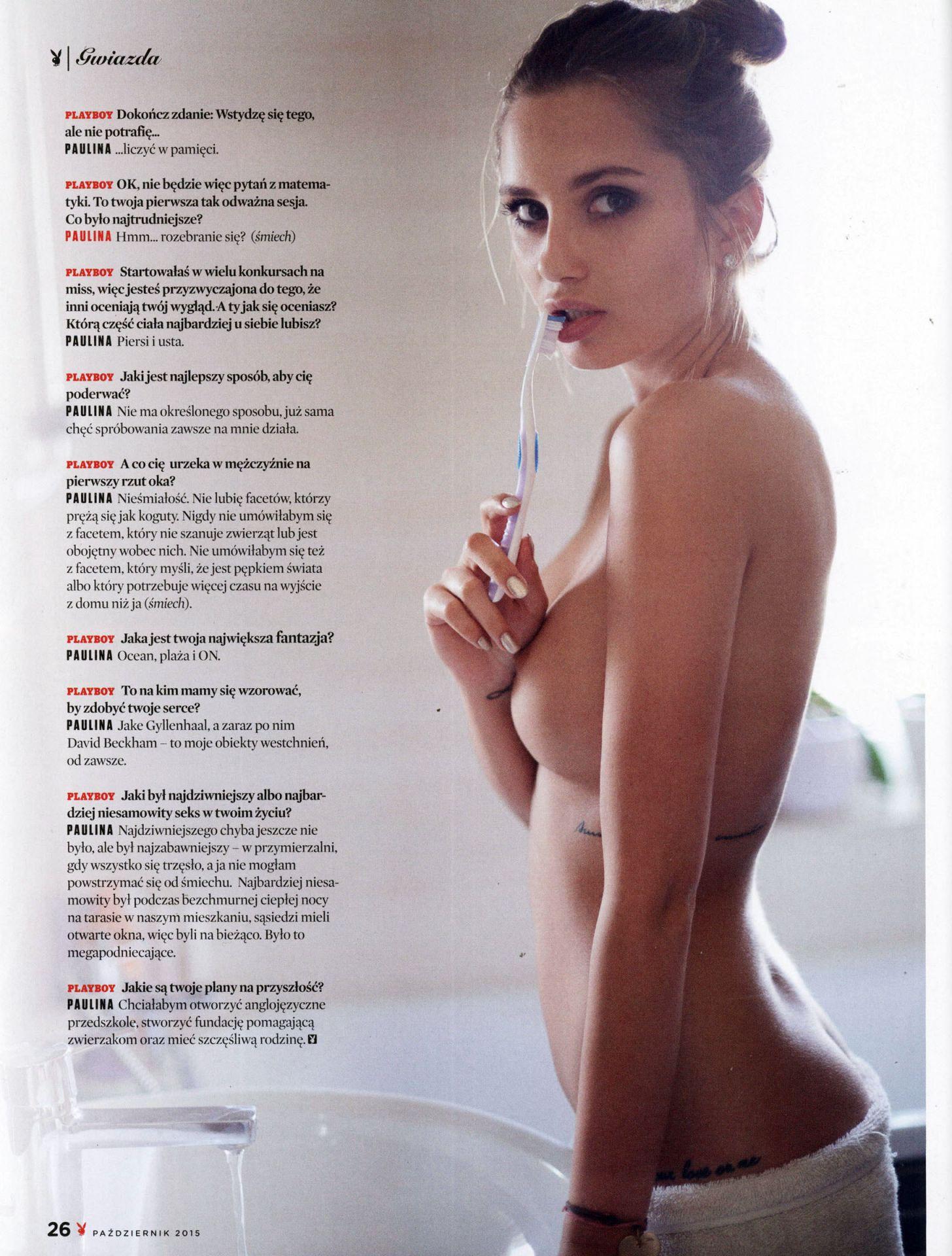 sanchez playboy nude Paulina