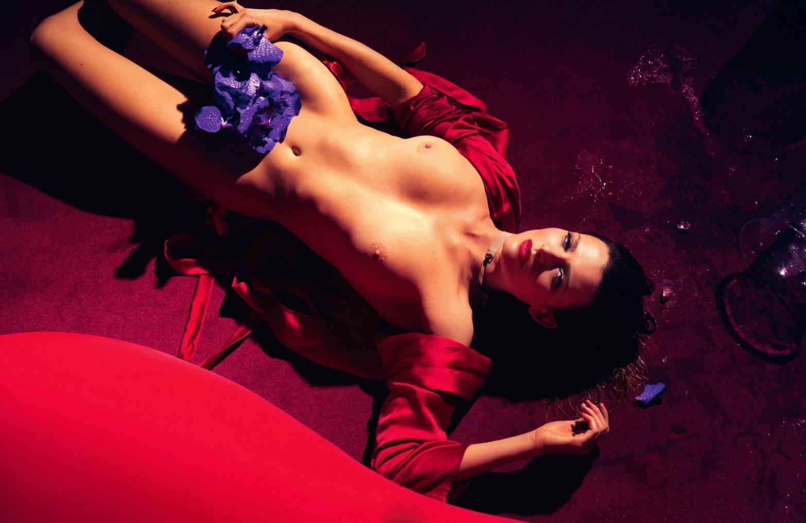 Elode Frégé nude  (4)