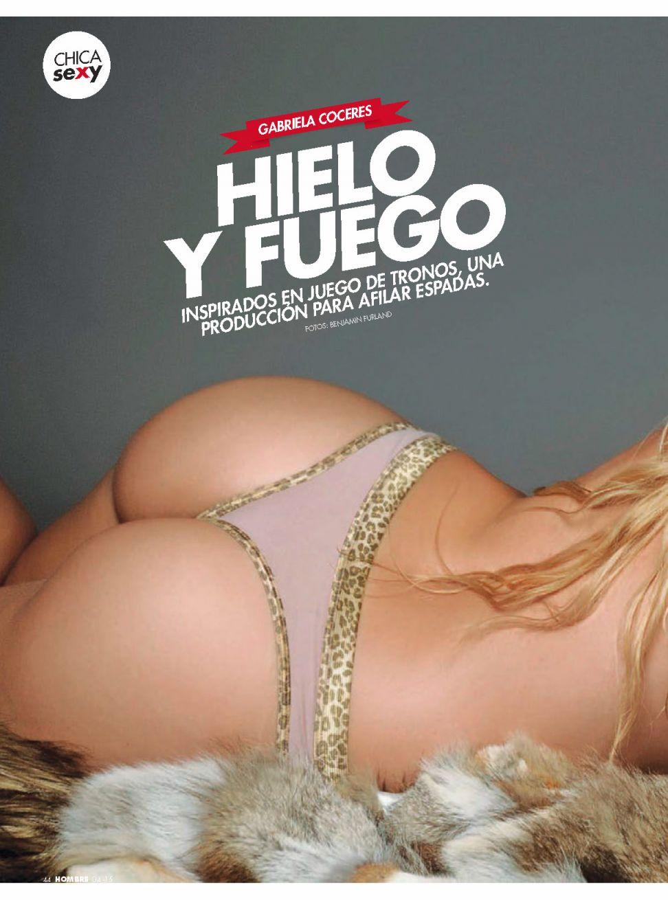 Gabriela Coceres topless (2)