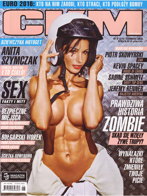 Anita Szymczak topless – CKM Poland – June 2016 (1)