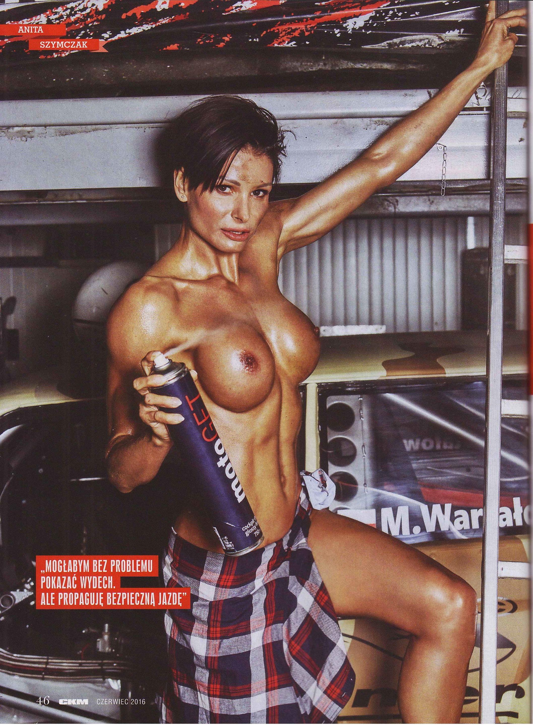 Anita Szymczak topless – CKM Poland – June 2016 (3)