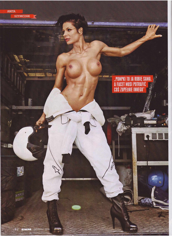 Anita Szymczak topless – CKM Poland – June 2016 (7)