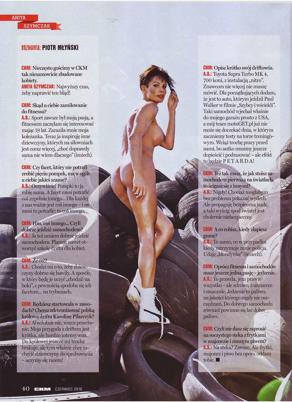Anita Szymczak topless – CKM Poland – June 2016 (9)