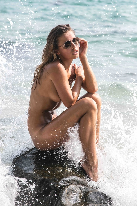 Nude tan line beach