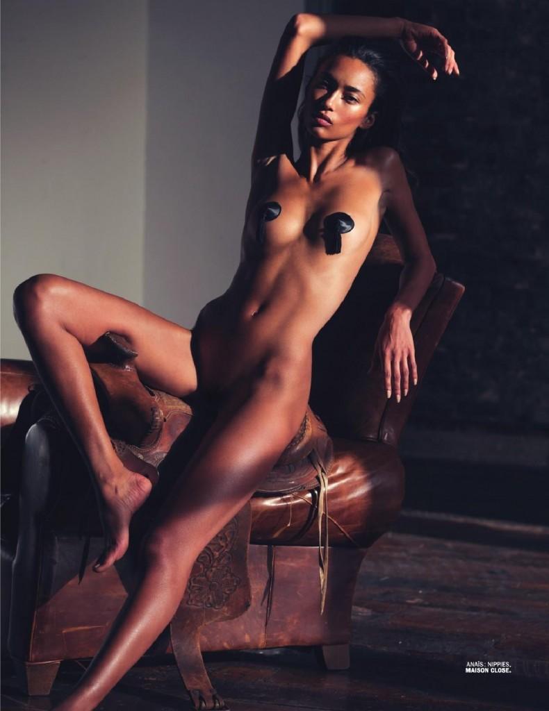 Lui magazine rihanna nude