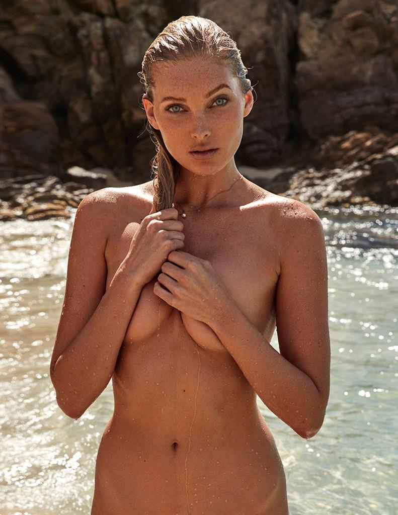 Elsa hosk topless for