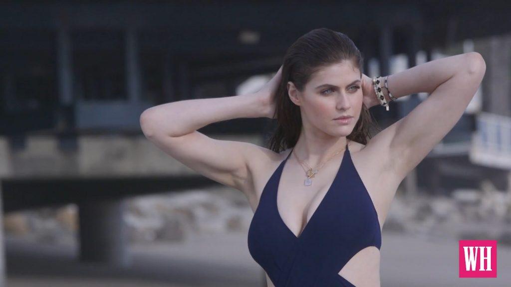 beach nude Alexandra daddario