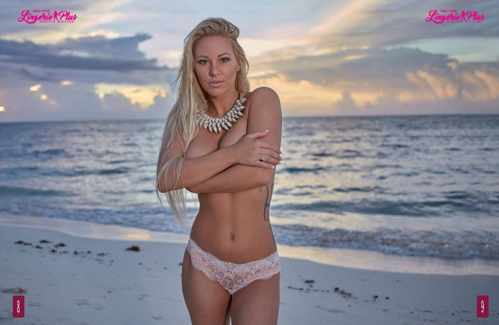 Kindly Myers Is The Girl Of The Month