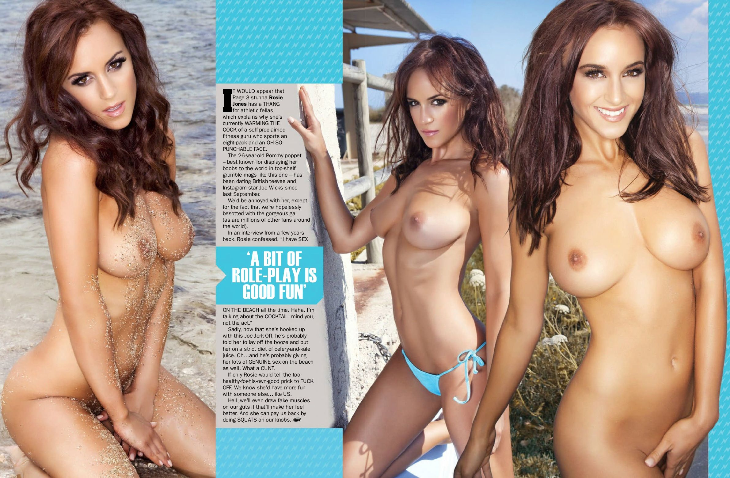 rosie jones naked