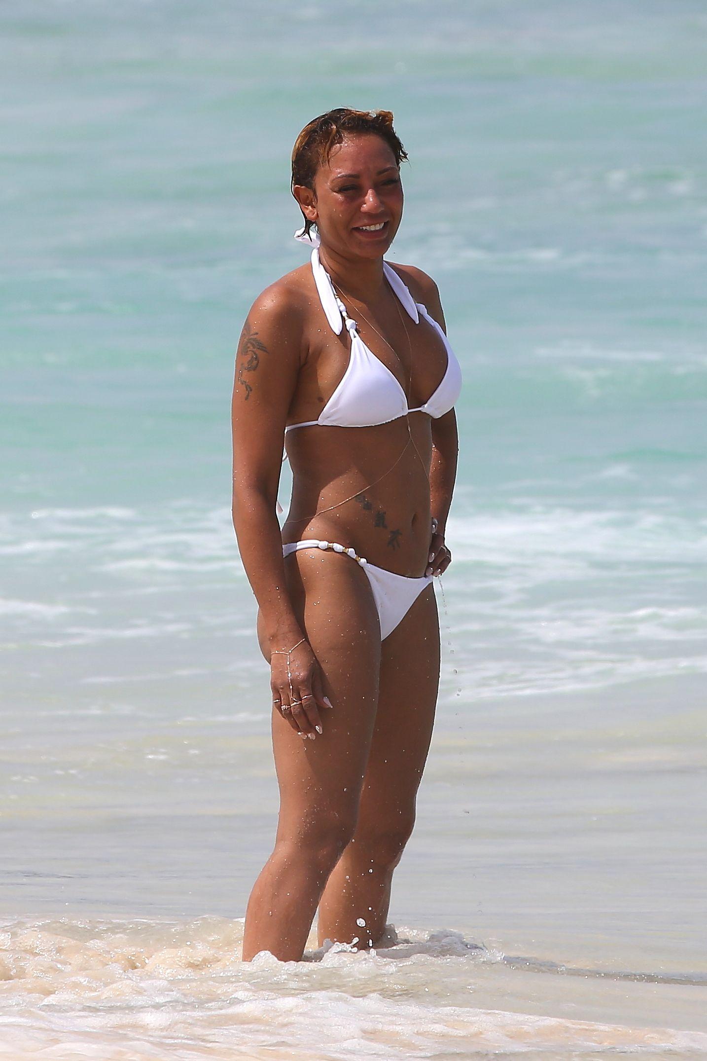 Melanie brown bikini photos