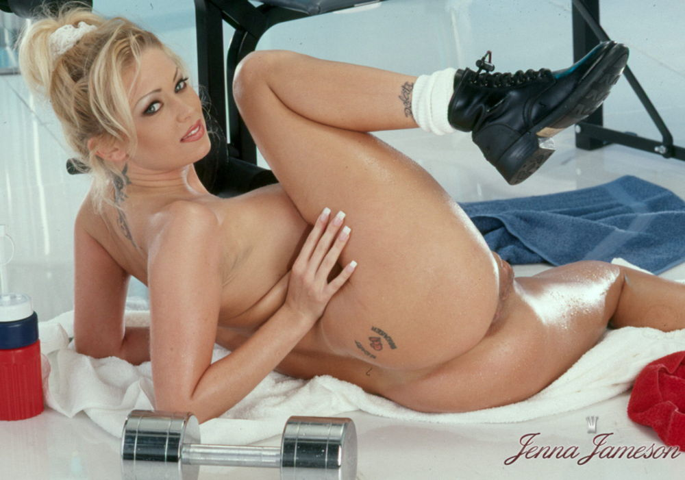 Sexy naked jenna jameson for