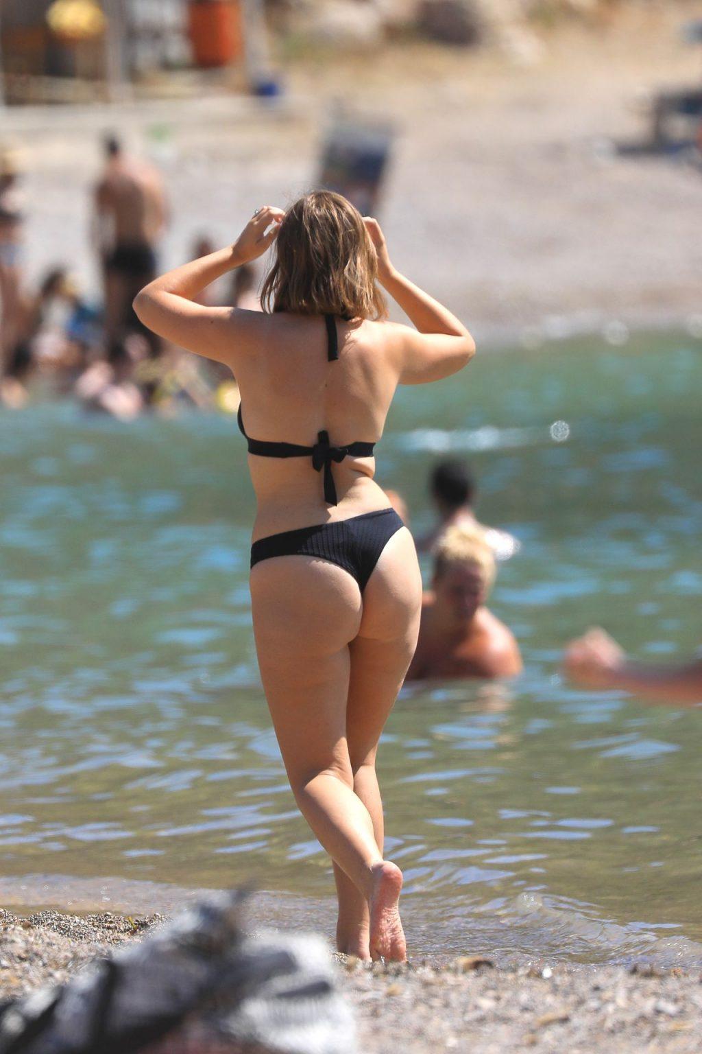Таня Берр в бикини — #TheFappening