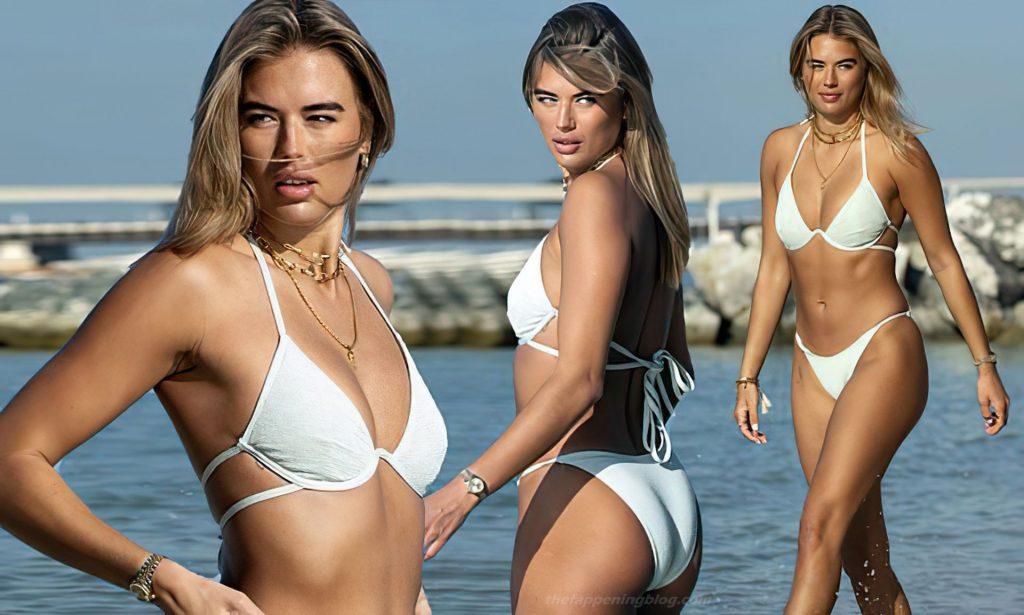 Arabella Chi в бикини — #TheFappening