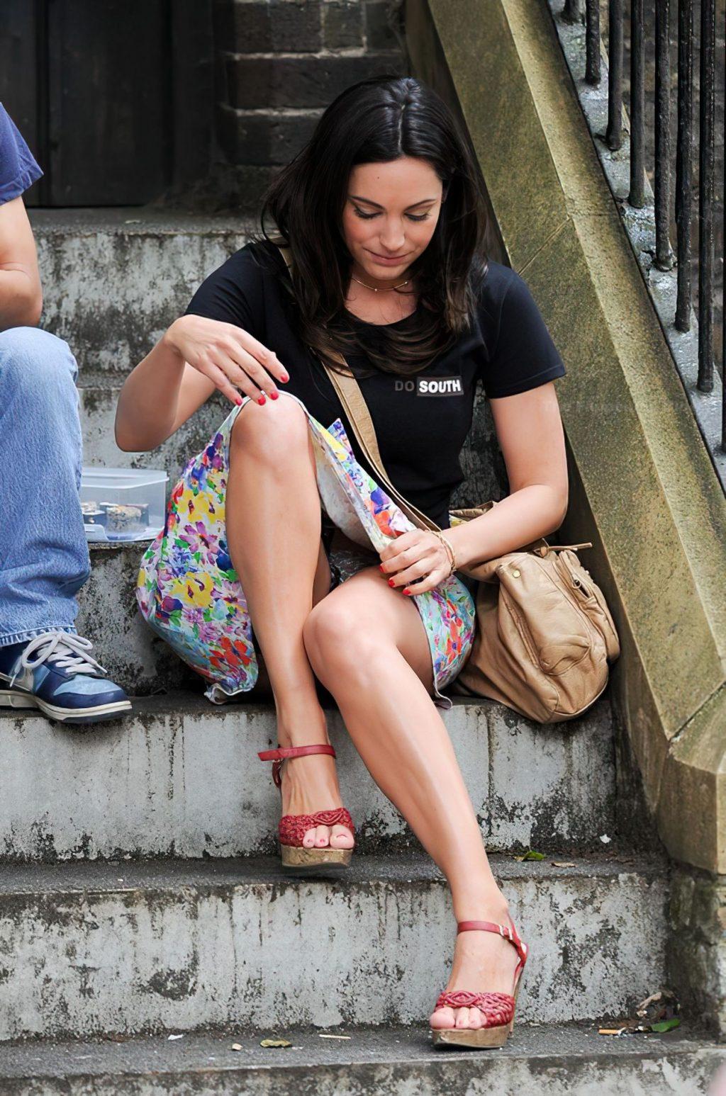Келли Брук под юбкой - #TheFappening