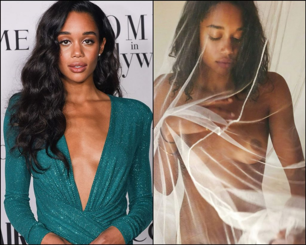 Laura Harrier топлесс — #TheFappening